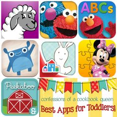 Best Apps for Toddlers!! Toddler approved! These entertain and educate my 20 month old when nothing else will -- we love them!!