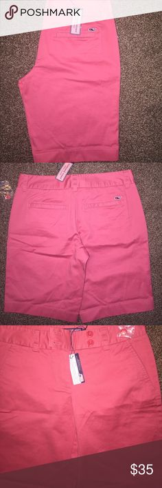 NWT Vineyard Vines Shorts Great length shorts in a cute color. They are brand new. Vineyard Vines Shorts Bermudas