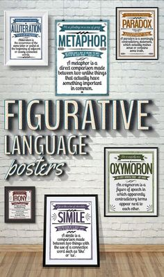 These colorful posters will brighten up your classroom and help remind your students of these different techniques. These posters were designed with the Middle / High School classroom in mind.