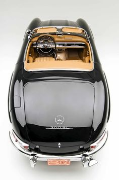 Products we like / Mercedes / Black / 300 SL / Vintage / CAR / Transportational / at Airows