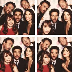 """How I Met Your Mother"" Takes to the Photo Booth: Jason Segel, Neil Patrick Harris, Cobie Smulders, Josh Radnor and Alyson Hannigan from ""How I Met Your Mother"" take some fun photos on the Carnegie Hall Red Carpet at the 2013 CBS Upfront. Ted Mosby, How I Met Your Mother, Movies Showing, Movies And Tv Shows, Josh Radnor, Thats 70 Show, Neil Patrick Harris, Himym, Throw A Party"