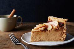 Cider Cheesecake Pie recipe on Food52