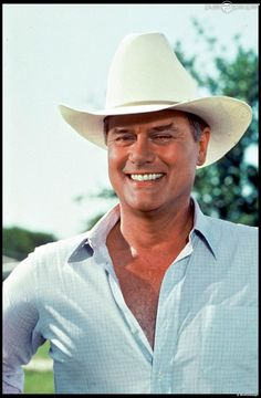 Larry Hagman as J. Ewing on Dallas I Dream Of Jeannie, Sidney Sheldon, Olivia De Havilland, Classic Series, New Series, Josh Henderson, Patrick Duffy, Dallas Tv Show, Mary Martin
