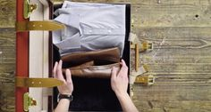 Struggling to fit everything into your suitcase? Don't fret, you can fit it all in. Here's our tips on how to pack a suitcase and the essentials. The Gentlemans Journal, Suitcase Packing, Etiquette, Fit, Shape