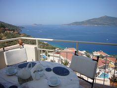 No1 Komurluk Apartments - sea view balcony.