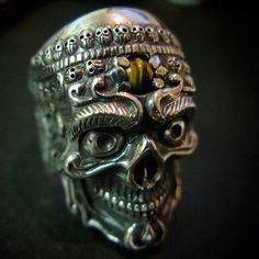 Tibetan Skull Ring by FUJIMO (Kyoto) (Taken with Instagram )