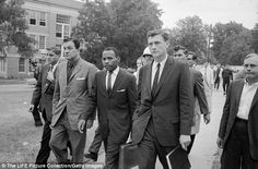 The desegregation battle in Mississippi has been raging for decades. Most famously, more than 3,000 federal soldiers had to be brought in to quell a huge riot in 1962 after James H. Meredith, an African American, was escorted onto the University of Mississippi campus