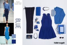 BLUE Η τάση που λατρέψαμε! Το μπλε που πρωταγωνιστεί στα ρούχα και για την Άνοιξη-Καλοκαίρι 2015 θα δώσει χαρούμενες πινελιές στα σύνολα σου καθώς επίσης λάμψη και πολυτέλεια στο στυλ σου