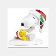 Happy Holidays Snoopy and Woodstock
