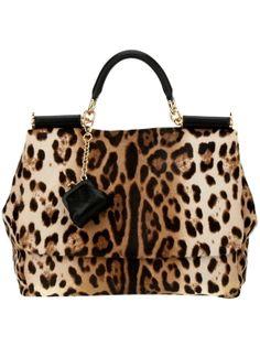 DOLCE & GABBANA - leopard print tote by farfetch