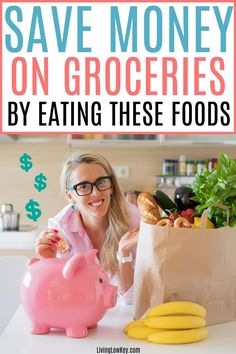 Are you looking for cheap foods to buy when your broke? Here are the most affordable foods to eat when you don't have money but you still want to eat good. #savemoneyonfood #savemoneyongroceries #budgetmeals #savingmoney Money Saving Meals, Best Money Saving Tips, Save Money On Groceries, Cheap Meals To Cook, Large Family Meals, Frugal Living Tips, Good And Cheap, Useful Life Hacks, Budget Meals
