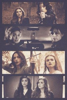 Allison Argent & Lydia Martin. I don't think they focused enough on her losing Allison :( #TeenWolf