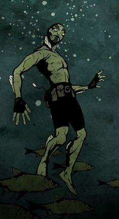Marvel Tribute, Abe Sapien, Cyclops, Beast, Manga, Comics, Books, Painting, Wallpapers