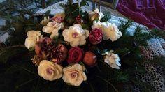 Christmas Wedding Decorations, Bouquet, Weddings, Vegetables, Design, Wedding Christmas Ornaments, Bouquet Of Flowers, Wedding