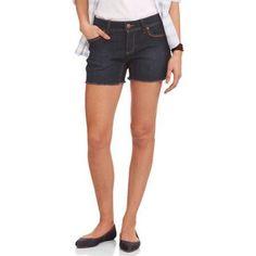 Faded Glory Women's 4.5 inch Core Boyfriend Denim (Blue) Shorts, Size: 8