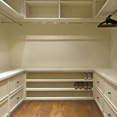 My dream closet.Traditional Spaces Master Bedroom Closet Design, Pictures, Remodel, Decor and Ideas Master Bedroom Closet, Home Bedroom, Bedroom Closets, Bathroom Closet, Laundry Closet, Bedroom Decor, Small Master Closet, Master Closet Design, Bedroom Ideas