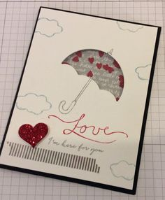 2016-2017 Stampin' Up! set called My Hero where sales benefit RMHC.  Also used Under the Weather bundle.  Read more on my blog!