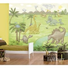 Eijffinger behang Dino jungle