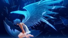 anime brunette with wings - Google Search
