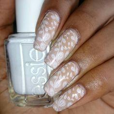 Nail Art Decided on some easy stamping with @essiepolish's Blanc and @uberchicbeauty stamping plate 1-03   @instag_app #naturalnaillover #NailStamping #nailart #beauty #beautiful #fashion #instafashion #fashiondiaries #nailstoinspire #fashionblogger #naildesign #nails #vernisaongles #nailartclub #mundodeunas #nailartaddict #nailartjunkie #nailvarnish #prettynails #nailpolish #watermarble #sparkles #unhas #preto #branco #rosa #nailswag #swatch #naturalnails #freehand  by nailsbyaraminta