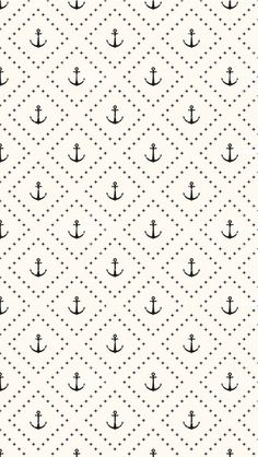 Children's Spaces | Patterns for Babies | Art Print | Illustration | Poster | Decoração Infantil | Padronagem para Bebês | Ilustração para Impressão  #sea #ahoy #anchor #fish #ocean #captain #pirate #shark  Pattern Of Anchors iPhone 5C / 5S wallpaper