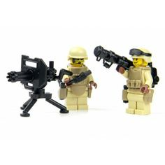 Perimeter Security Soldiers Custom TOW Made With Real LEGO(R) Mini-Figure Parts