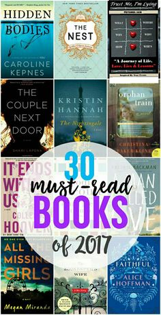 30 must read#books#of#2017#must read#engrossing....