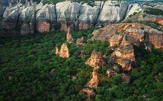 Parque Nacional Serra da Capivara, no Piauí (Foto: FUNDHAM)