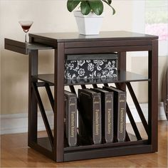 Jameson Chairside End Table in Cherry Finish