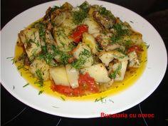 Bucataria cu noroc - Cartofi cu ciuperci la cuptor