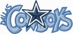 Dallas Cowboys Logo Free embroidery design
