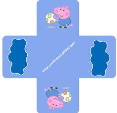 Kit festa Peppa Pig - George -  forma_2