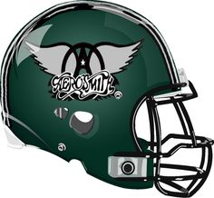 Aerosmith Helmet from a Fantasy Football League