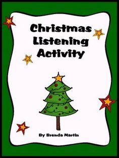 Free listening activity with a holiday theme!