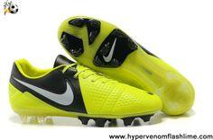Buy Discount Nike CTR360 Maestri III FG FG Volt Black White Soccer Boots Store