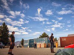 Google espera que balões de internet operem já em 2015 Companhia quer universalizar o acesso à internet com balões aerostáticos