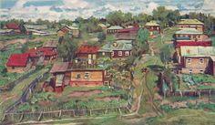 Konstantin Yuon - Provinz