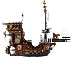 Lego Movie Metalbeard Sea Cow Pirate Ship set: 2700 pieces!