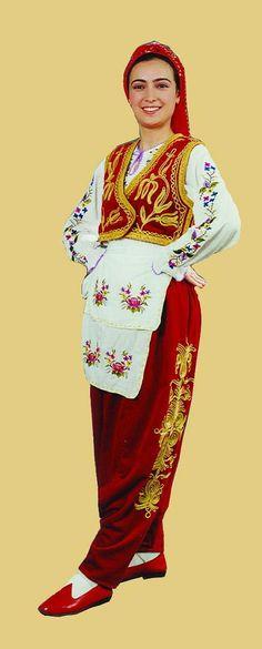 Edirne Yöresi Giysileri