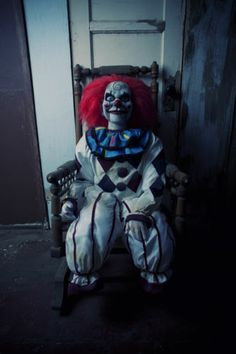 DEAD SILENCE EVIL CLOWN MOVIE PROP HORROR PUPPET HAUNTED DUMMY DOLL CONJURING