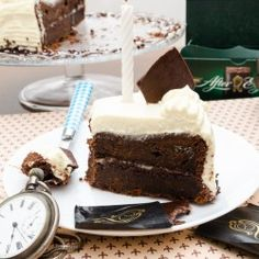 Chocolate cake with After Eight