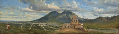 A Vision of Grandeur: Masterworks from the Collection of Lorenzo H. Zambrano Conrad Wise Chapman (1842-1913)VIEW OF BISHOP'S PALACE NEAR MONTERREY pintada ven 1865