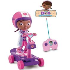 Doc Mcstuffins Scooter | ABC Party Ideas For Girls