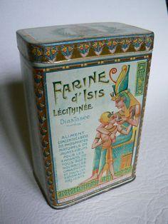 boite FARINE D ISIS vers 1930