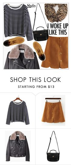 """Shein"" by teoecar ❤ liked on Polyvore featuring Acne Studios and Timberland"