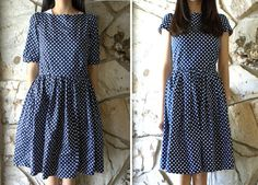 Welcome to the gOOd life: DIY: update/tailor a vintage style dress and how to shorten sleeves