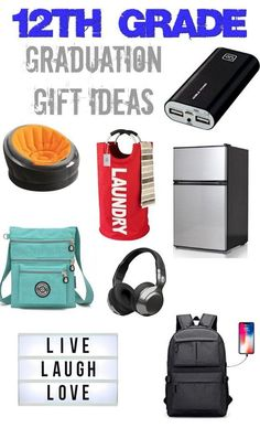 This AWESOME Graduation Gift Idea list is perfect for your teens heading off to college! From college dorm decor and supplies to apartment gifts - there are tons of gift ideas for your new grad!