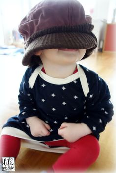 *einfach und schnell ein bequemes Babyballonkleidchen nähen - Größe 62-80 für Babys und Kleinkinder* kostenlose Nähanleitung und Schnittmuster. FREEBOOK!