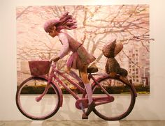 Donkey and the Carrot: Shintaro Ohata Blends Sculpture and Canvas! Γλυπτά και ζωγραφική για ένα 3D αριστούργημα