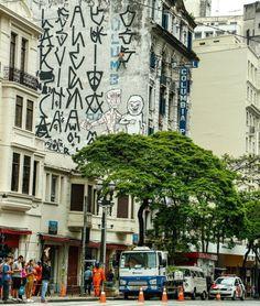 Pixadores in São Paulo
